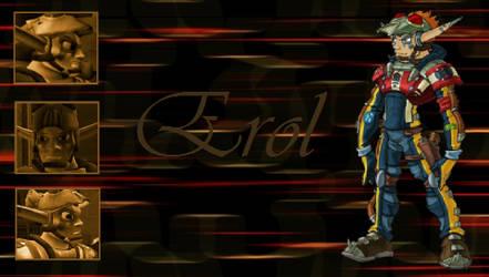 Erol PSP Wallpaper by Jak-DaxFangirl84