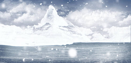 Background ICE MOUNTAIN by ECVcm