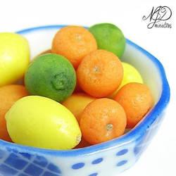 Citrus Fruit Bowl - NJD Miniatures by NJD-Miniatures