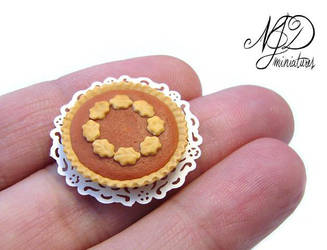 Pumpkin Pie by NJD Miniatures by NJD-Miniatures