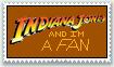 Indiana Jones fan stamp by dragontamer272