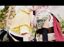 Lightning x Hope ~ Sweet kiss by GoddessOfValhalla