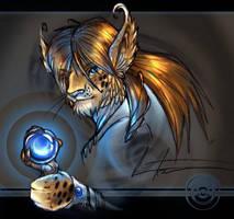Blue Light Fantasy by balaa