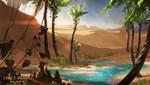 Desert Oasis1 by balaa