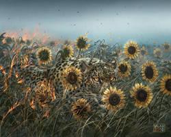 The Leopard Sun by balaa