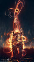 The Leopard Sun: Fire and Stone by balaa