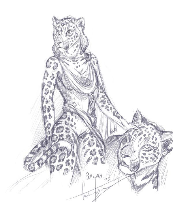 Jaguar Lady By Balaa On Deviantart