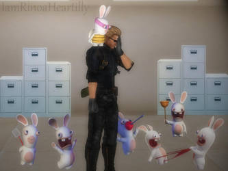 Who Let The Rabbids In...? by IamRinoaHeartilly