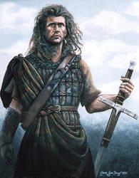 Braveheart - Mel Gibson by MightyAtom99