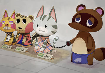pocket camp:new feature by boke-0327
