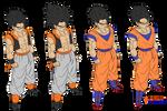 fusion gohan goku hair coloring by Naruttebayo67