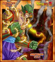 Piccolo Super Namek - Dragon Mode + Fond by Naruttebayo67