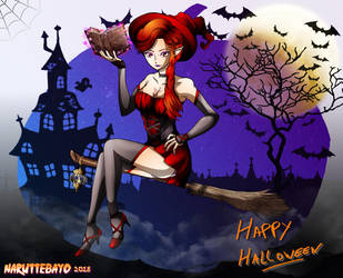 [colo] Halloween 2018 - Violet by Naruttebayo67