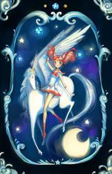Rini and Helios by chocuu