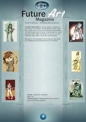 Artist Feature: MirrorCradle by Future-Art-Magazine