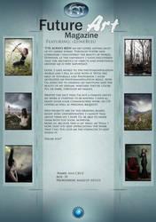 featured Artist: LuneBleu by Future-Art-Magazine