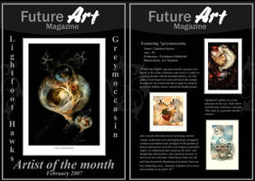 Monthly Artist - February by Future-Art-Magazine