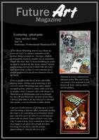 Featured Artist: Phatspine by Future-Art-Magazine