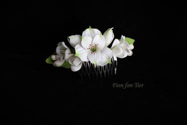 First flower comb by fion-fon-tier
