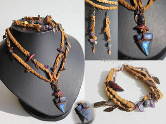 Elhaz jewelry set by fion-fon-tier