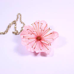 Big Sakura Necklace by fion-fon-tier