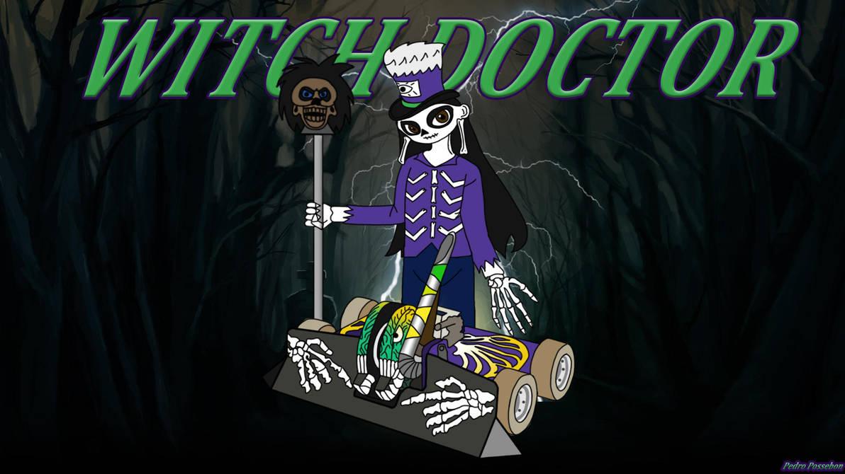 Witch Doctor Wallpaper by HaToriSL