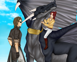 FE9'10 - Wiverns can be cuddly by Kiu227