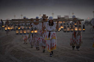 Burning Man - Lamp Lighters by NVMark