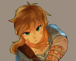 Breath of the Wild by JuulieWoof