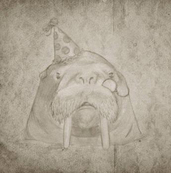 Classy walrus by konno-yumi