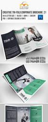Creative Tri-Fold Corporate Brochure 21 by EgYpToS