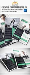 Creative Corporate Flyer 21 by EgYpToS