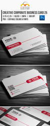 Creative Corporate Business Card 25 by EgYpToS
