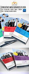 Creative Web Services Flyer by EgYpToS