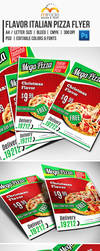 Flavor Italian Pizza Flyer by EgYpToS