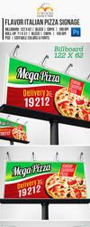 Flavor Italian Pizza Signage by EgYpToS