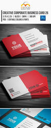 Creative Corporate Business Card 26 by EgYpToS