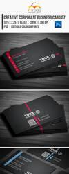 Creative Corporate Business Card 27 by EgYpToS