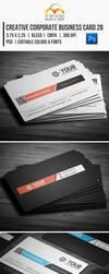 Creative Corporate Business Card 28 by EgYpToS