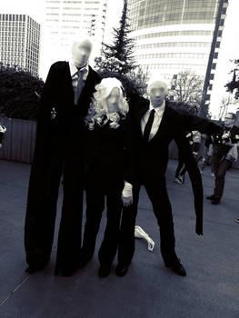 Meet the Slenders by xMadame-Macabrex