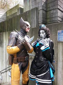 Decibel Meets Wolverine by xMadame-Macabrex
