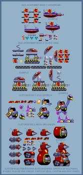 Sonic the Hedgehog - Custom Eggman/Robotnik bosses by retrobunyip