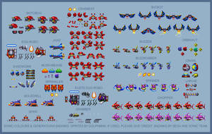 Sonic Colours and Generations Bandiks (16-bit) by retrobunyip