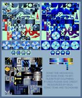Sky Base Zone (Genesis style) by retrobunyip