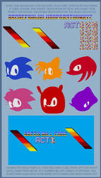 Custom Sonic Level Title Card by retrobunyip