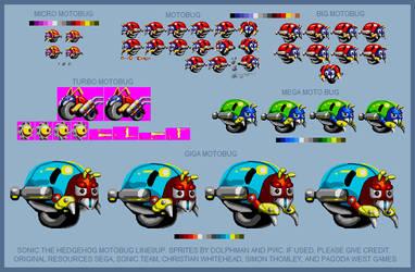 STH - Motobug Lineup by retrobunyip