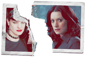 Abby and Emily: Torn Photo by scifiroots