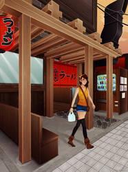 Ramen Shop by belldandy105
