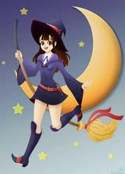 Little Witch Academia: Akko by belldandy105