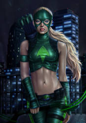 Young Justice: Artemis by belldandy105